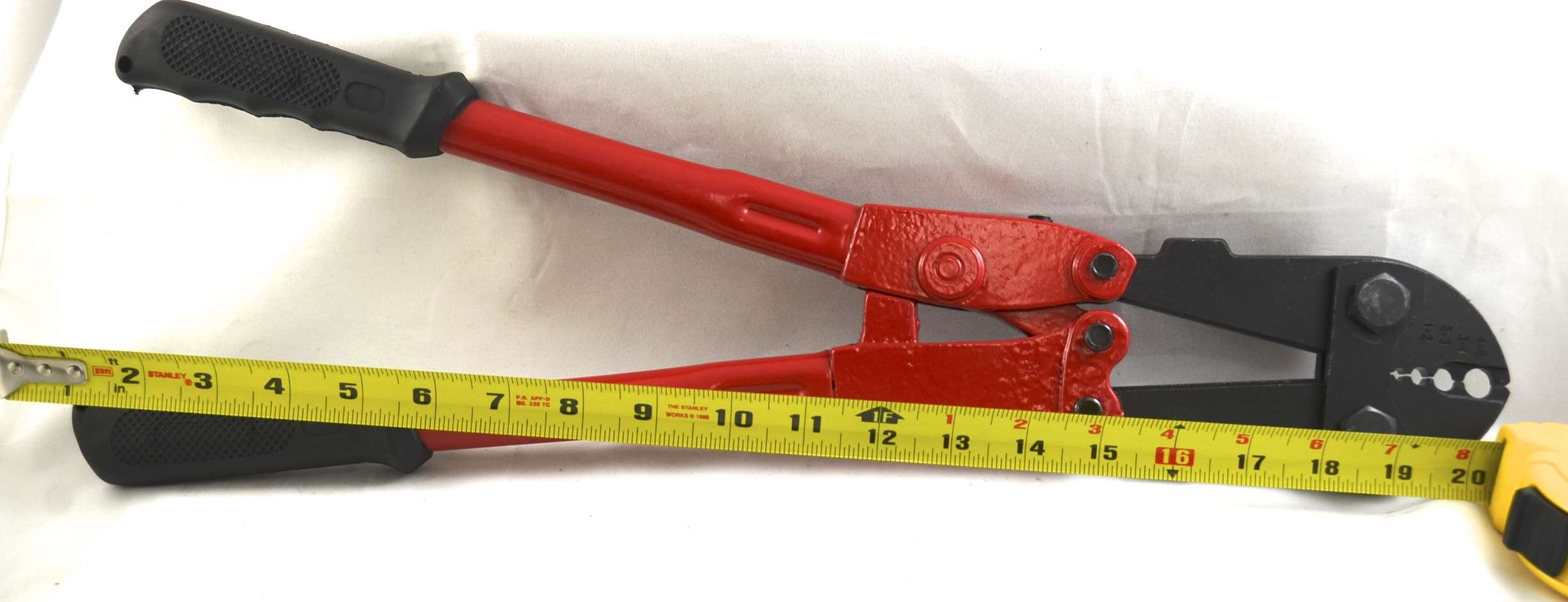 red handle 4 in 1 crimp tool live wire products inc. Black Bedroom Furniture Sets. Home Design Ideas